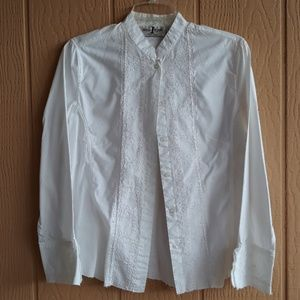 FINAL MARKDOWN Once Again PM button down LS top